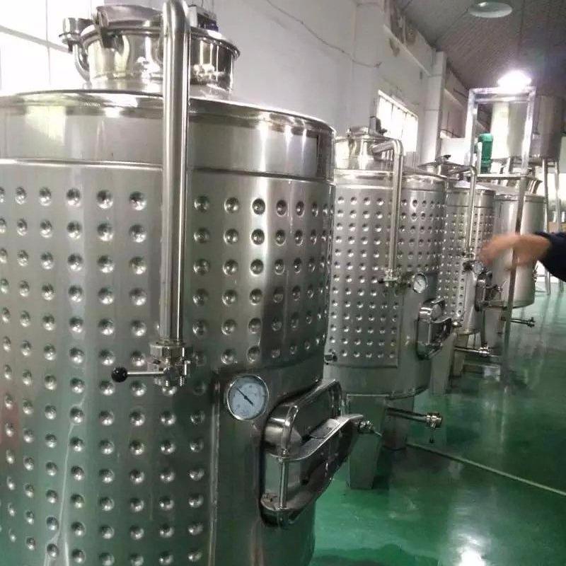 葡萄酒發酵罐 果酒發酵罐 草莓酒發酵罐 藍莓酒發酵技術