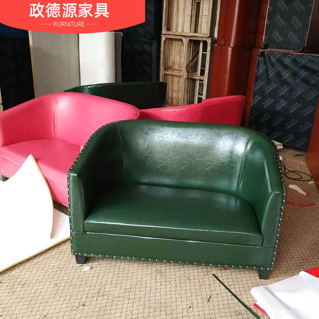 政德源 咖啡廳  卡座沙發   咖啡廳沙發     歐式卡座沙發