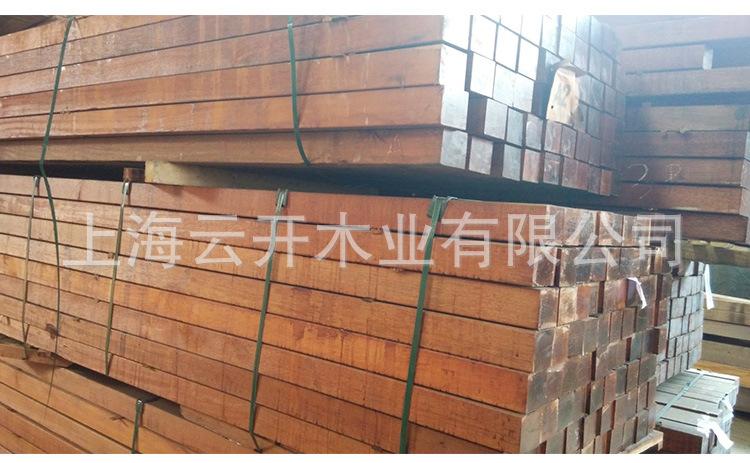 正宗菠萝威�焊癜宀� 印尼那菠萝格木 户外工程菠」萝格定制加工 源ζ 头厂家示例图1