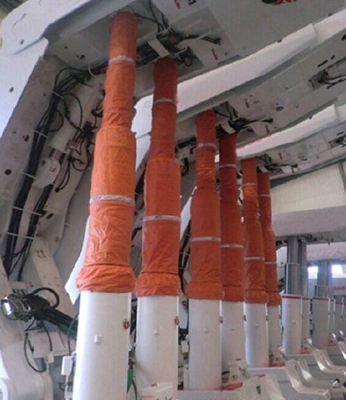 神木红柳林煤矿液压支架防护罩|液压支柱防护套