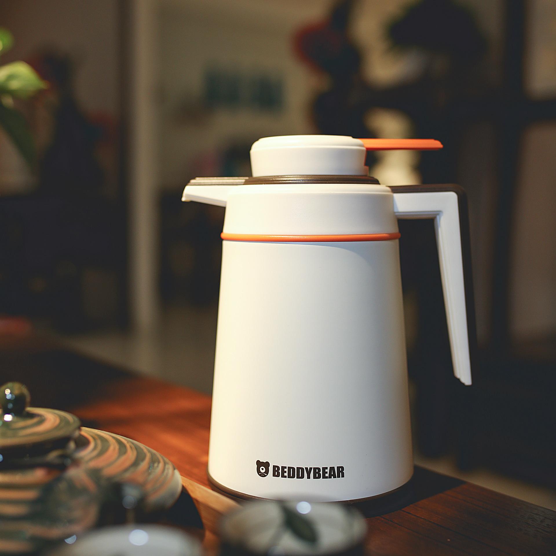 杯具熊保溫壺家用304不銹鋼保溫瓶暖壺熱水瓶大容量水壺開水瓶示例圖2