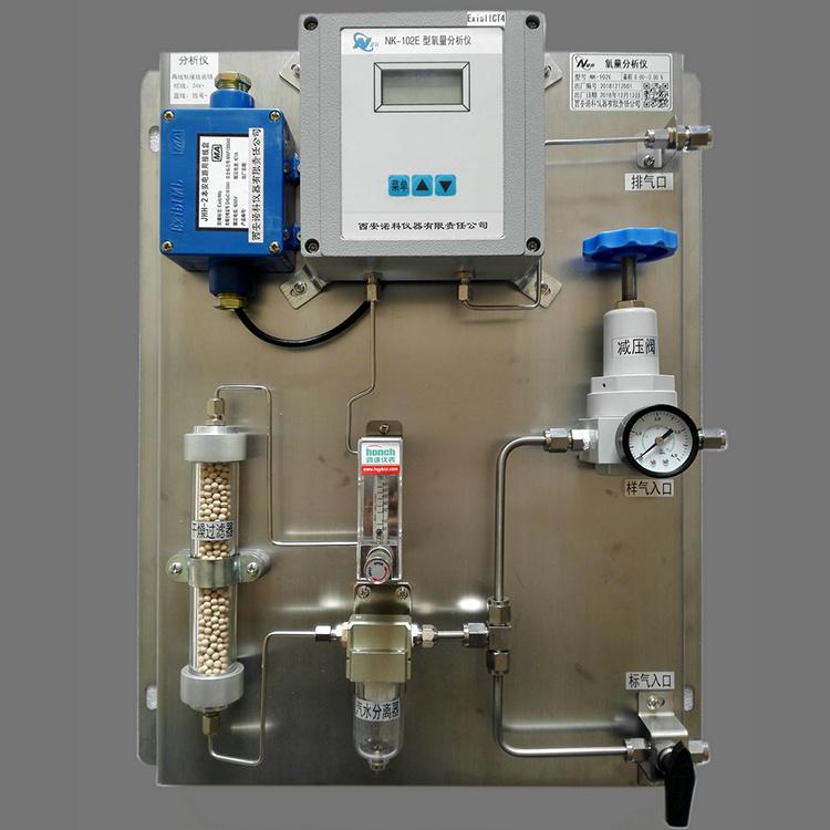 防爆式氧量分析仪 氧分析仪 微量氧分析仪 诺科仪器NK-102E示例图2