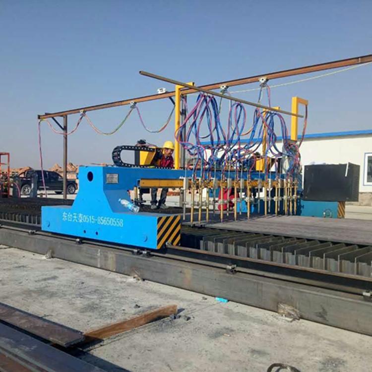 20吨自调焊接滚轮架  江苏厂家非标定制皇泰操作机 可调滚轮架示例图4
