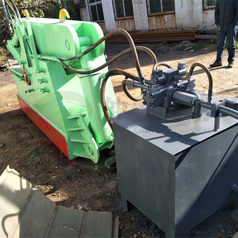 热销废旧金属鳄鱼剪切机 废铁液压鳄鱼剪 300吨钢板边角料剪断机示例图12
