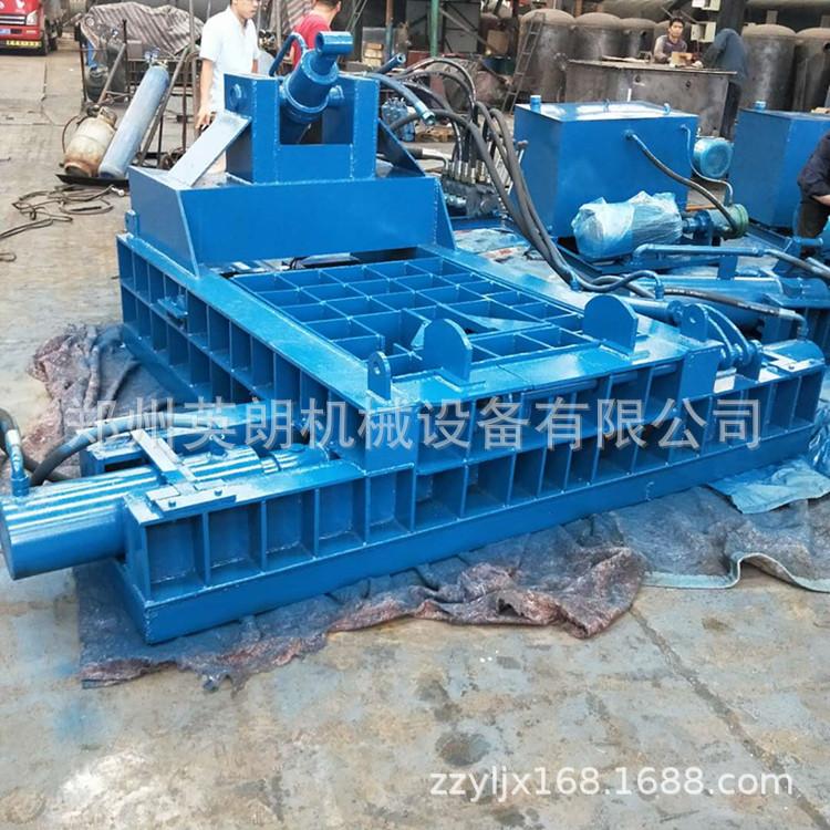 厂家直供废金属液压打包机 废铁铝压块机 卧式金属成型机示例图34