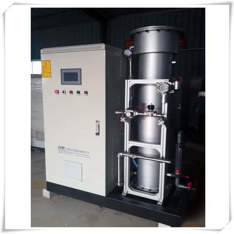 廢氣處理臭氧發生器  中型臭氧發生器--濟南思達科