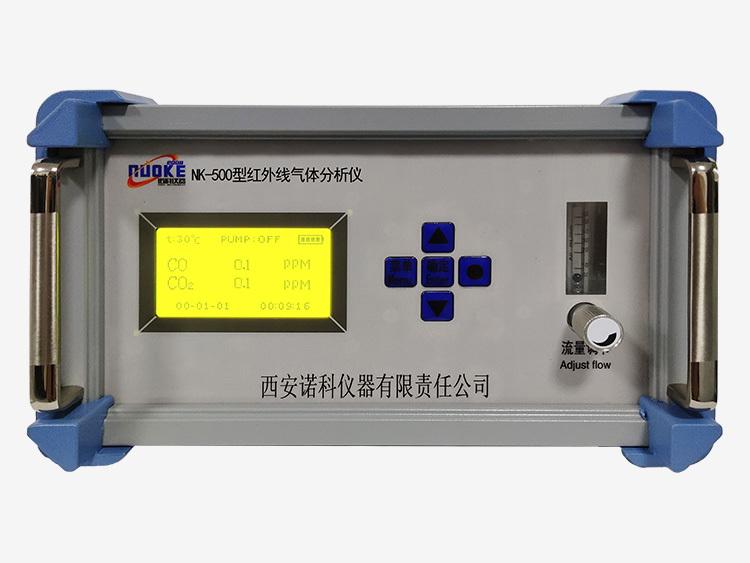 红外线CO、CO2二合一分析仪 一氧化碳分析仪  工作场所空气有毒物质测定仪 诺科仪器NK-500示例图1