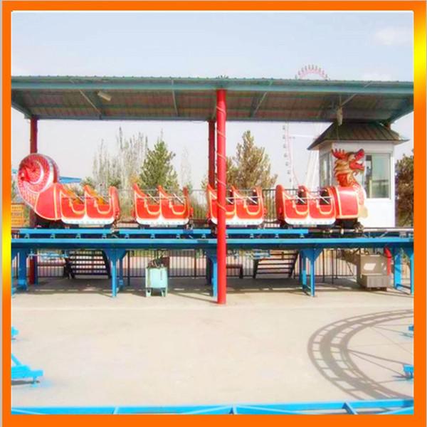 大型户外儿童游乐场游乐设备轨道滑行龙 惊险刺激滑行龙游乐项目示例图9