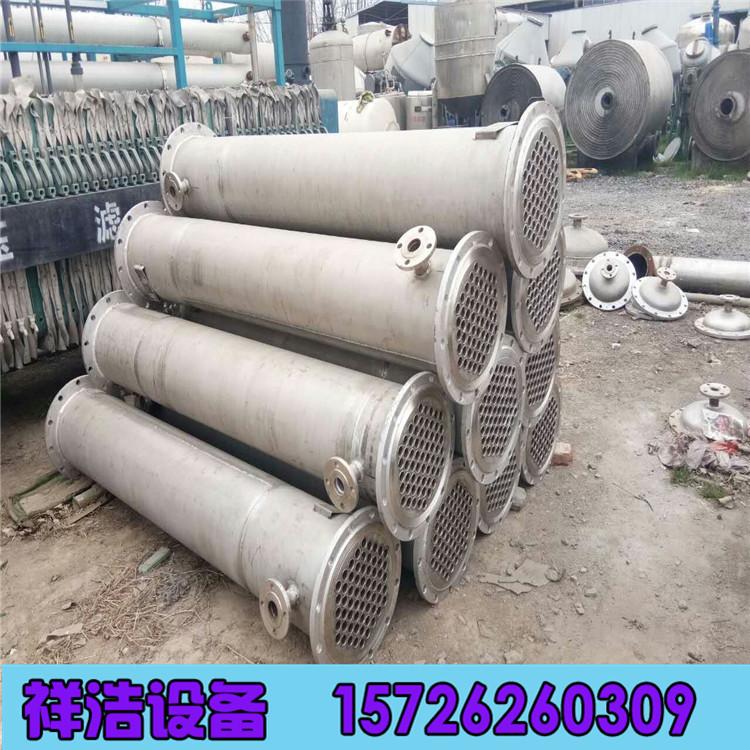 出售二手冷凝器 二手鈦材冷凝器 80平方304L不銹鋼冷凝器示例圖7