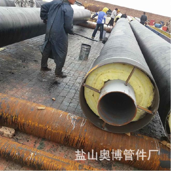 厂家直销 保温钢管 钢套钢蒸汽保温管 加工定做 管中管保温钢管示例图6