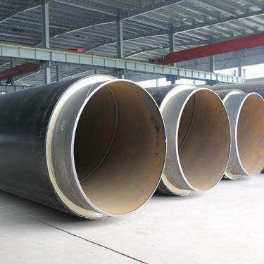 聚氨酯直埋保温管,聚氨酯发泡保温管,直埋保温钢管