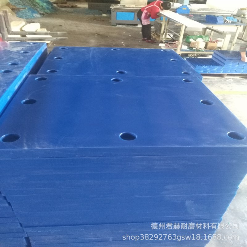 橡胶D200型防撞板橡胶护舷板保护船岸大码头船岸边使用防撞设施示例图6