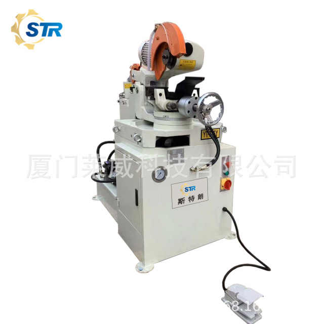 高速钢锯片专用切管机液压型315Y半自动切管机厂家直销