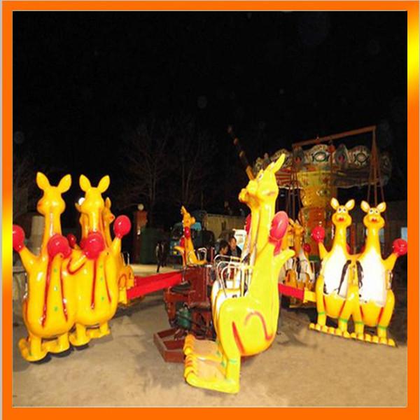 火爆销售8臂疯狂弹跳欢乐袋鼠 好玩刺激的儿童欢乐袋鼠袋鼠跳项目示例图3