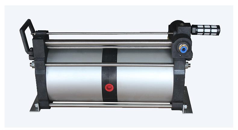山东欣诺厂家销售工业气体增压泵 耐用保压好 小型气驱气体增压泵示例图12