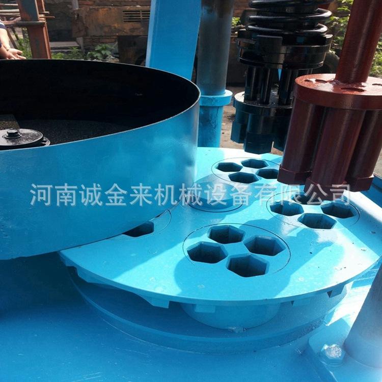 诚金来型煤设备云南蜂窝煤球机 兰炭粉 木炭粉 煤粉冲压成型设备示例图4