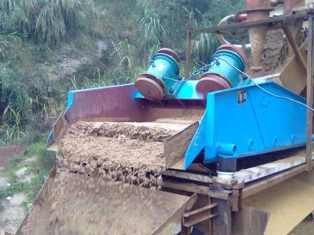 高頻振動篩廠家 恒昌干排脫水篩系列 細沙回收脫水篩設備