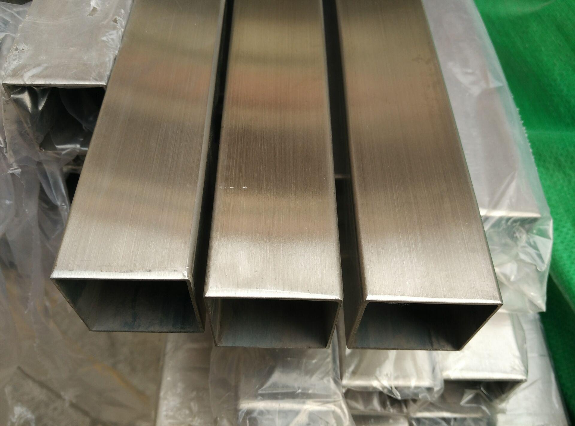厂家直销201 304 316L不锈钢方矩管 厚壁管 大口径工业用管示例图3