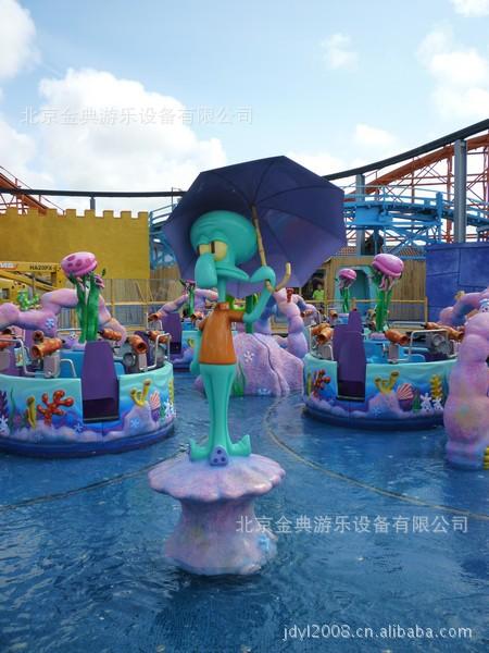 海绵宝宝 2018年最新水上互动 大型游乐设备示例图3