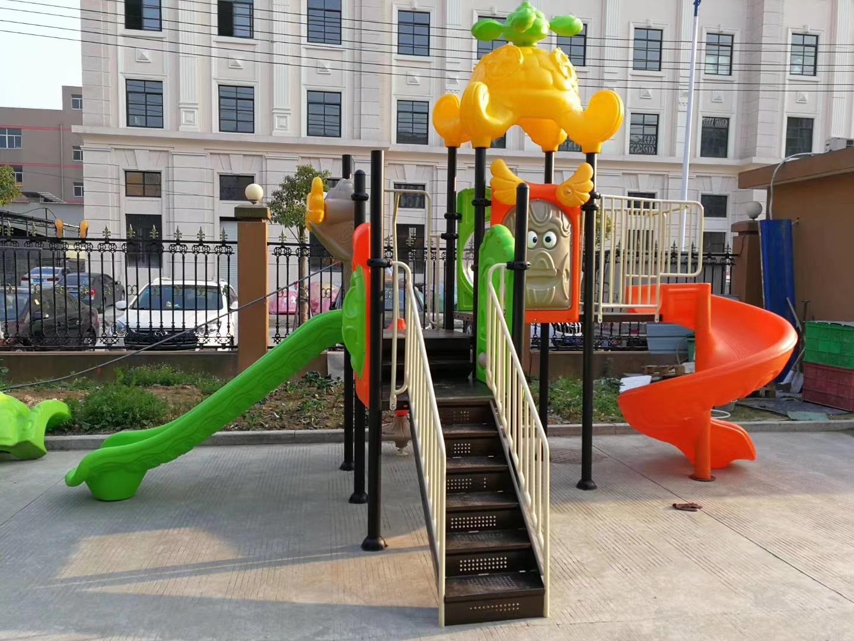 专业生产定制室外小区广场幼儿园滑梯 户外儿童乐园滑梯 物美价廉示例图17