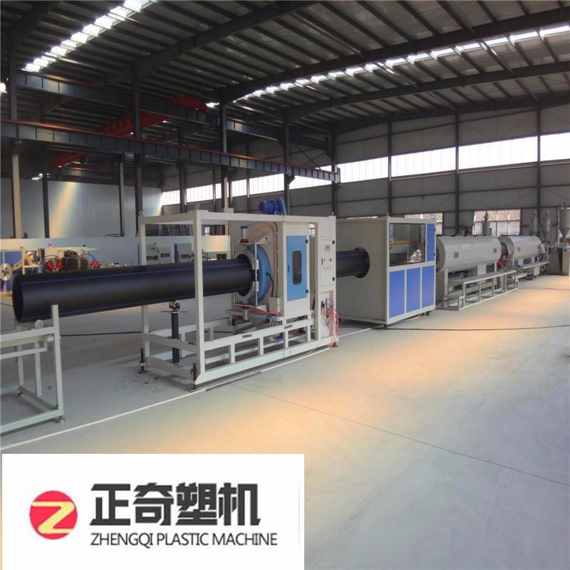 莱芜正奇PE塑料管材挤出设备生产线