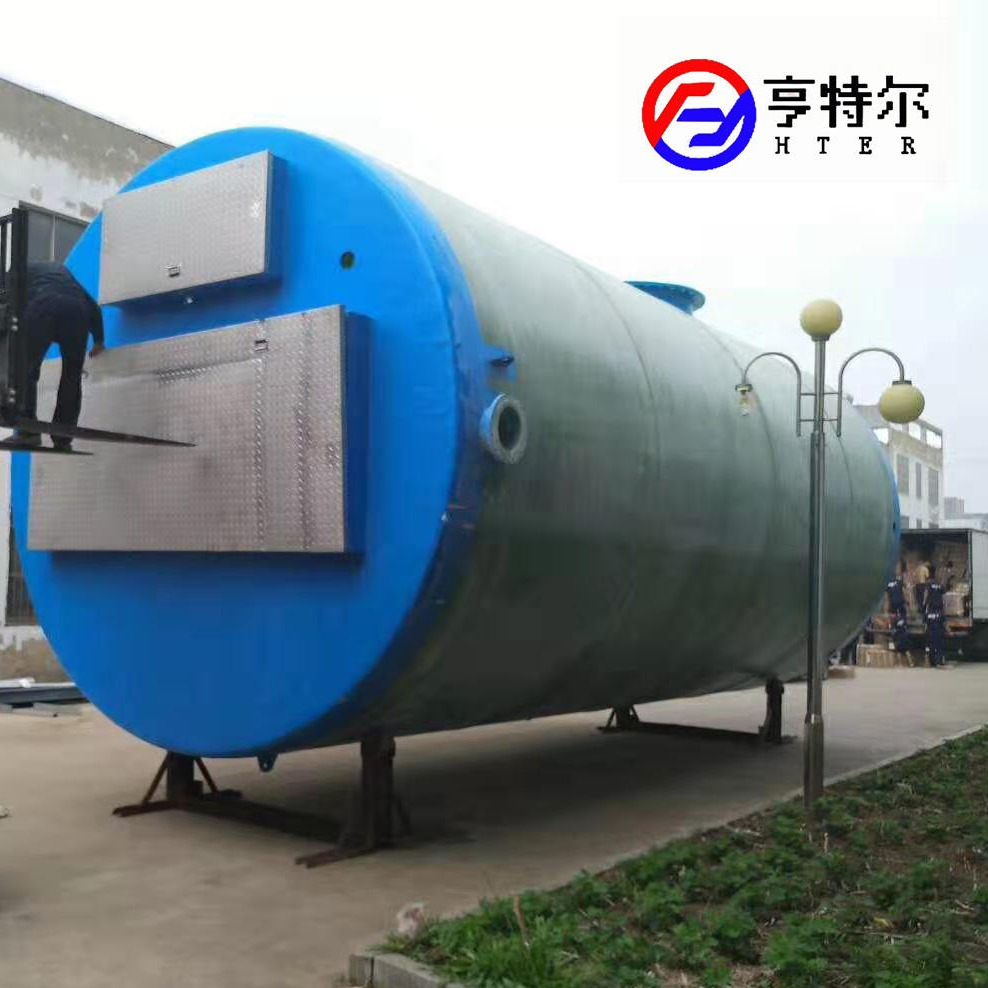 亨特尔地埋式一体化预制泵站 直径2.8m一体化污水提升泵站价格