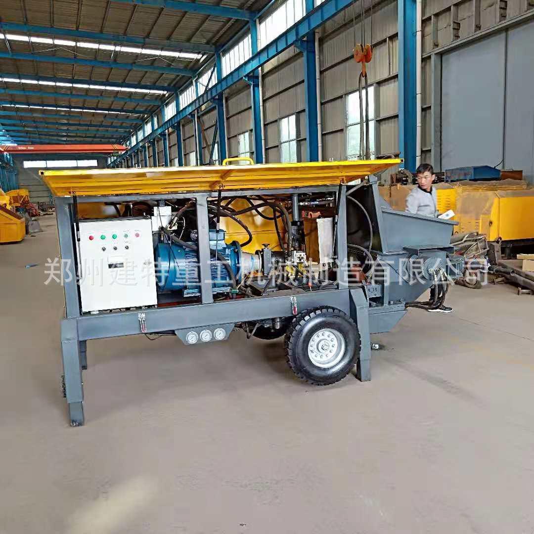 西藏厂家直销湿喷机 JTSP-90型混凝土湿喷机 泵送一体式湿喷机示例图2