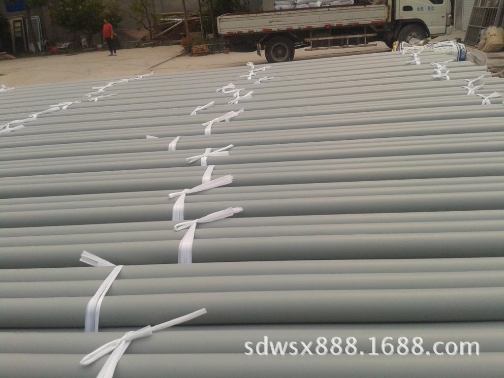 供应PVC大棚管   40mm蔬菜大棚PVC硬管厂家直销 专业定制示例图19