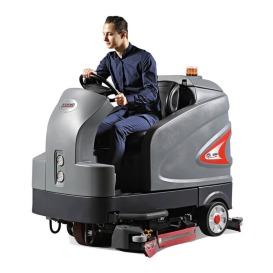 S230驾驶式洗地机 大型超市盘刷式洗地车 地下停车场滚刷洗地车 高美智慧型