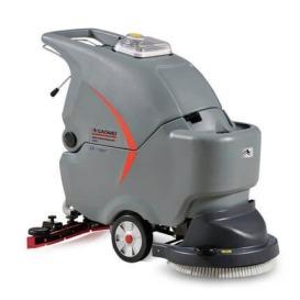 GM50商场手推式洗地机 大理石洗地机 PVC地面洗地车 高美厂家直销