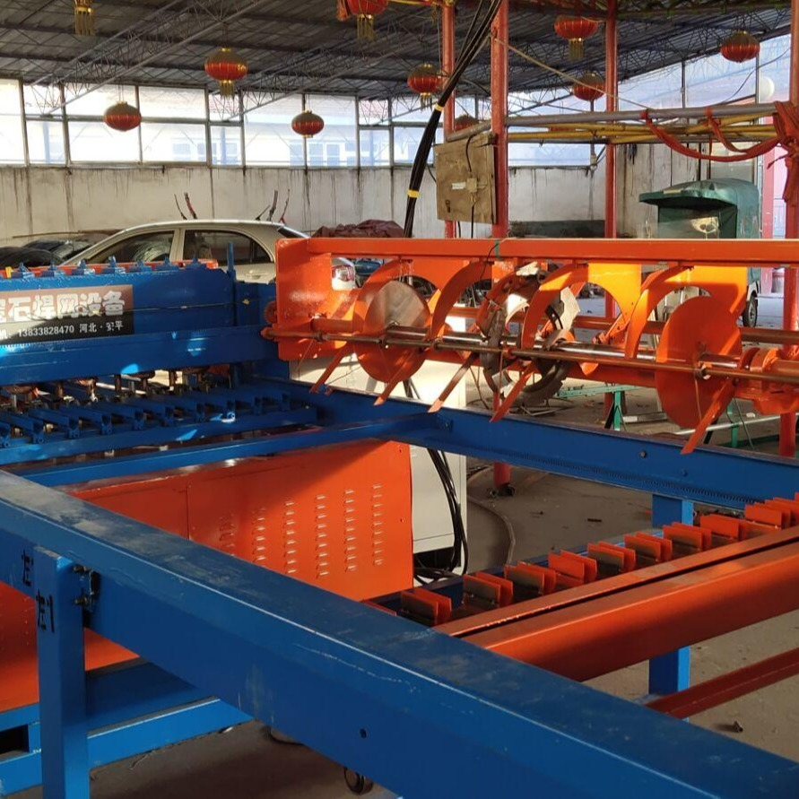 新型煤矿焊网机  经纬自动焊网机   竖丝自动摆丝焊网机