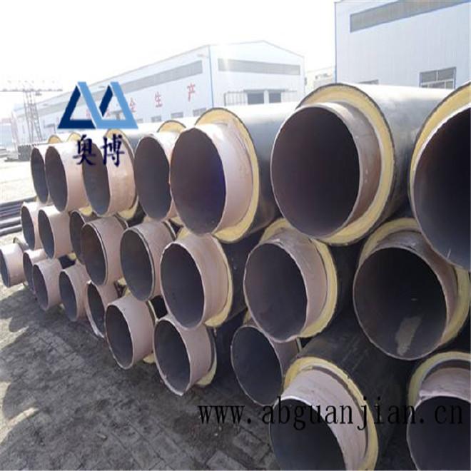 厂家直销 保温钢管 预制保温钢管 定做聚氨酯直埋式保温钢管示例图10