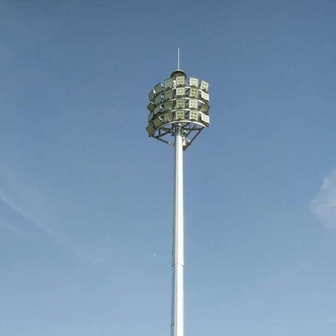 浩騰照明HTGGD-029高桿燈 廠家直銷浙江20米高桿燈 led電動升降高桿燈 戶外廣場中桿燈