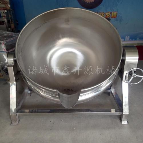 电加热夹层锅 熟食卤煮夹层锅 不锈钢可倾式肉制品卤煮锅生产厂家 型号齐全