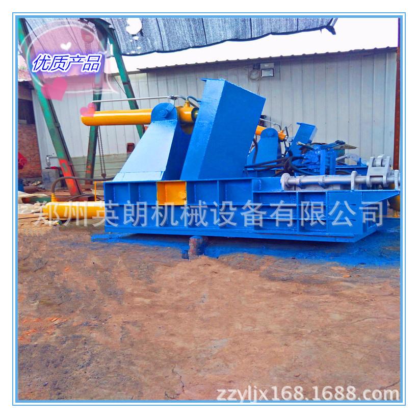 卧式高效废旧金属压块机 废铁压块机 金属废料液压压块机示例图18