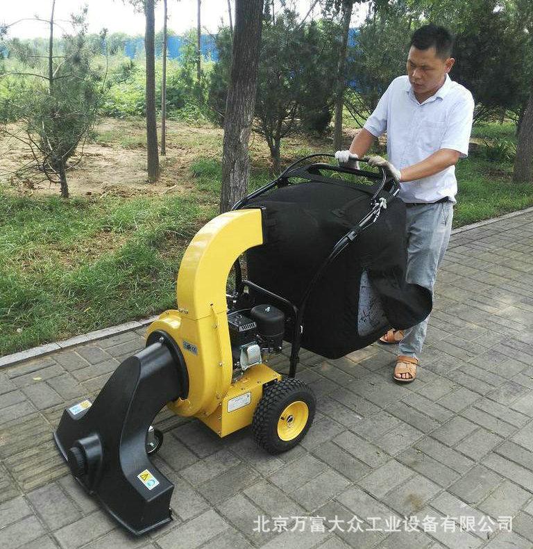 小型吸叶机 高效路面吸叶机 北京多功能吹吸叶机 落叶清扫设备示例图3