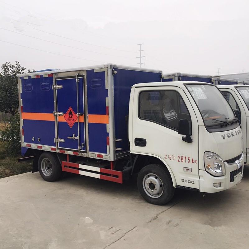 新疆躍進小福星危險品運輸車價格|藍牌小型防爆車|煙花爆竹運輸車廠家