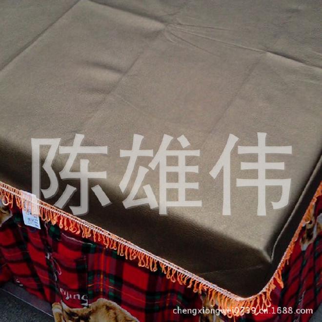供应毛底加厚皮革桌罩 价格实惠 厂家直销 欢迎选购示例图3