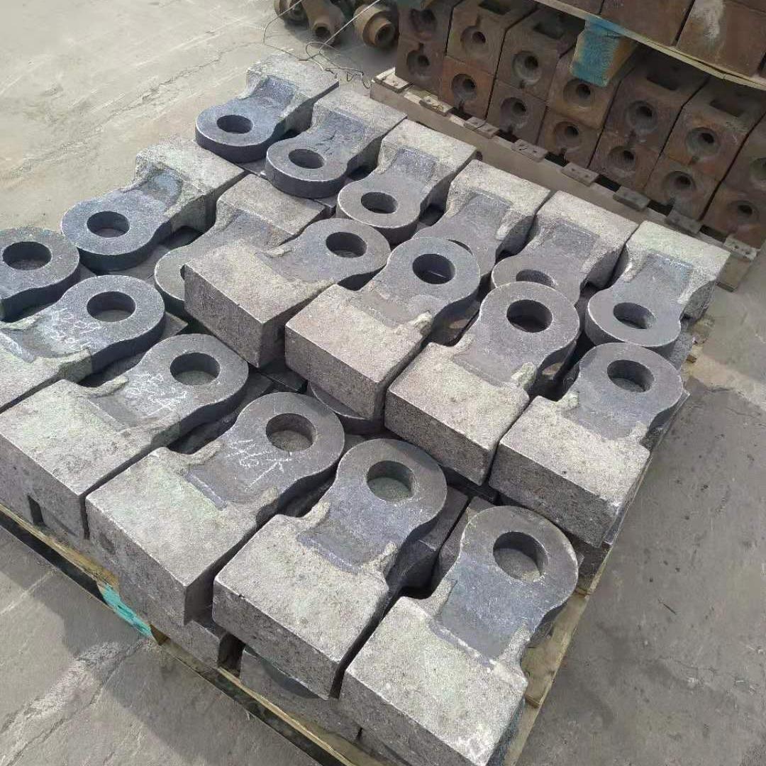 制砂機錘頭 鐵礦石錘頭 高鉻合金錘頭 煤矸石錘頭