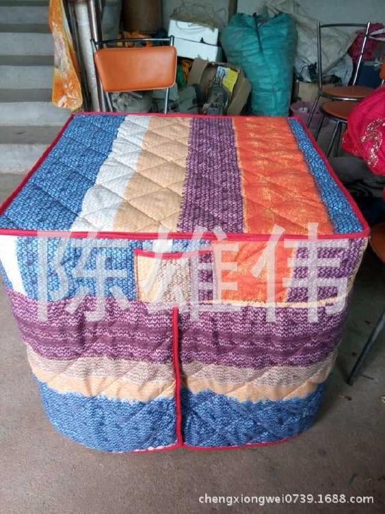 批发供应可折叠棉桌罩 加棉桌布 棉桌罩销售 欢迎订购示例图5