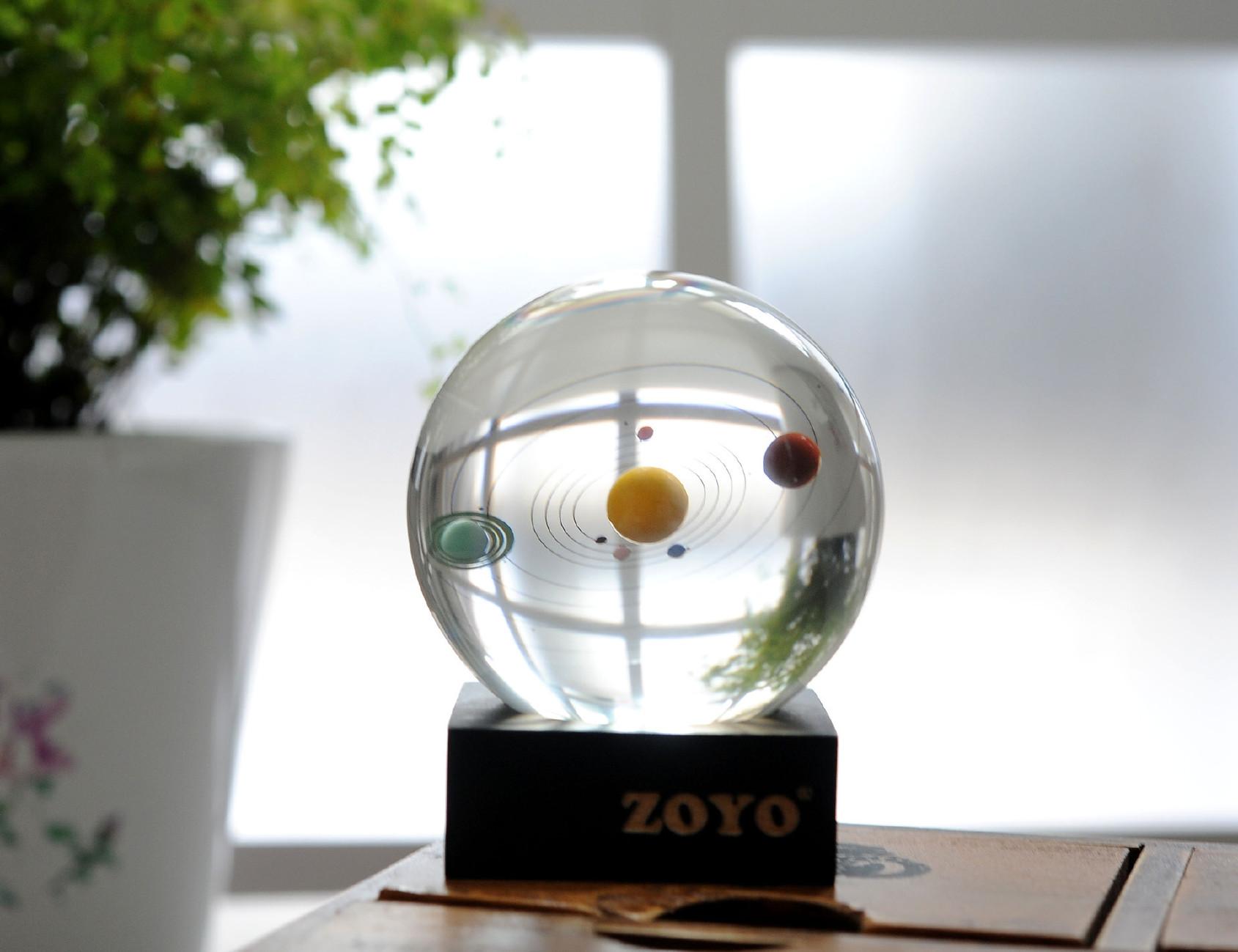 ��㖺w��w���2[�G�b|_【太阳系八大行星3D天体水晶球摆件创意礼品生日礼物家居工艺品