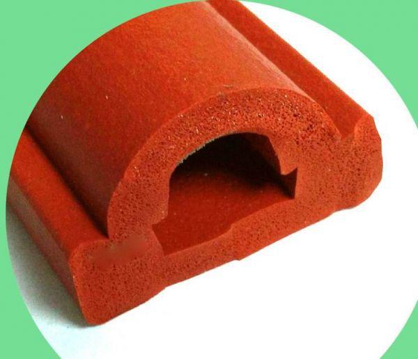 工业硅胶发泡异形条门窗机械耐高温密封条示例图5