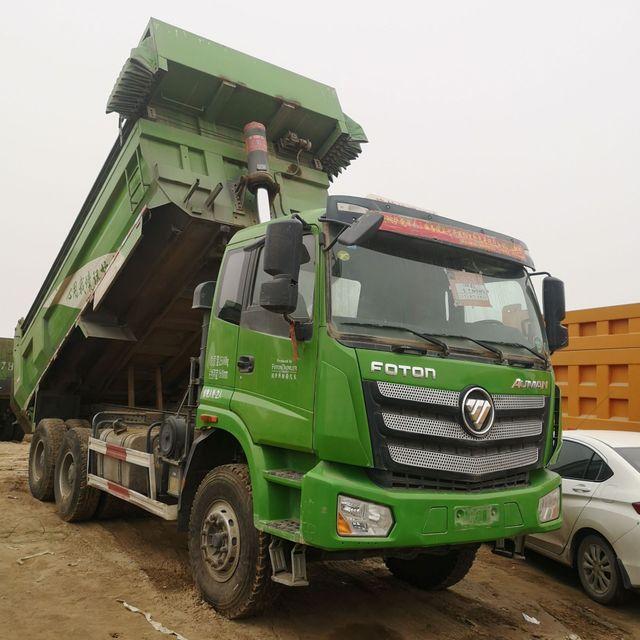 低價轉讓二手工程自卸車豪沃德龍歐曼5.6到6.2米后八輪翻斗自卸車