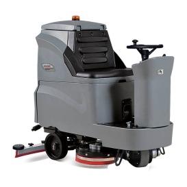 GM110BT85驾驶式洗地车 校园地面洗地机 超静音洗地车 高美制造