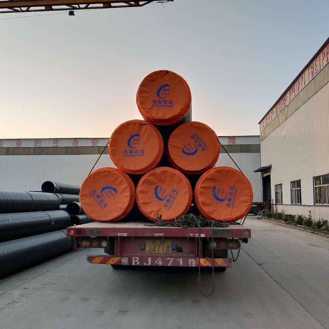 河北龍都供應  小區供暖用聚氨酯保溫鋼管 聚氨酯保溫鋼管型號齊全