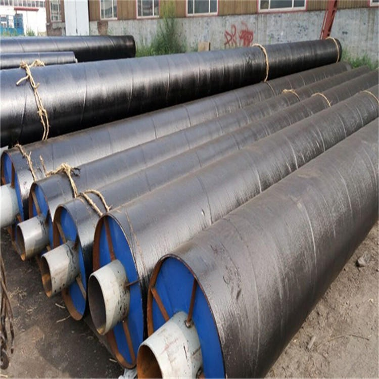 龍都直銷聚氨酯預制保溫鋼管 供熱保溫鋼管 小區供暖直埋保溫管道 廠家