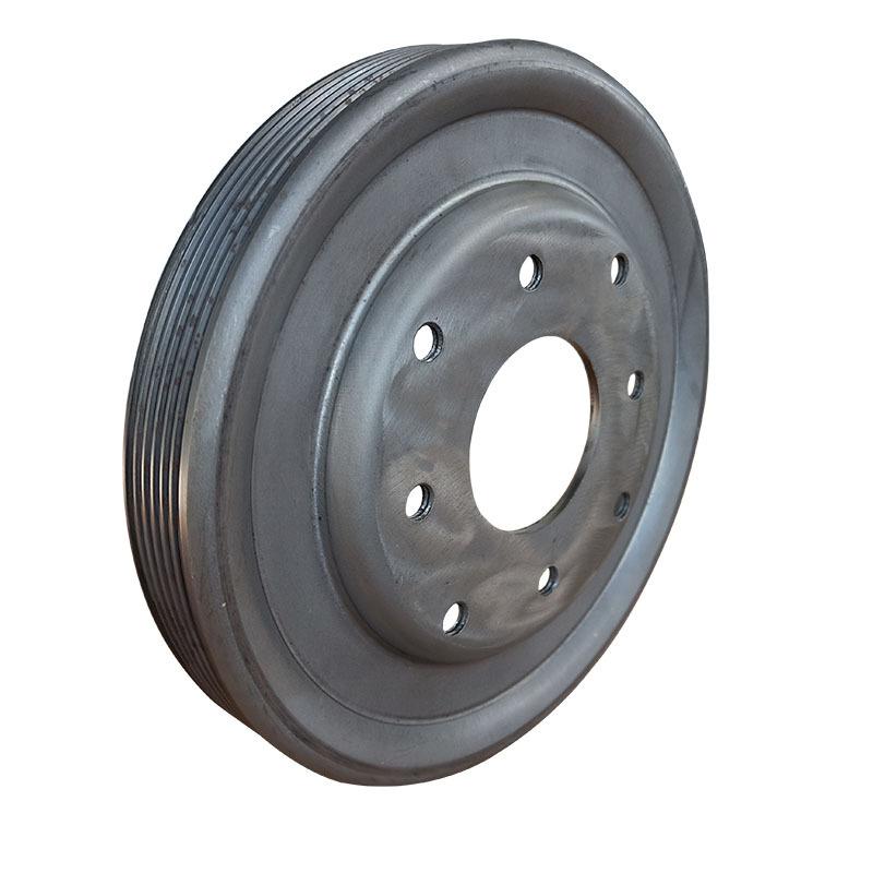 厂家直供皮带轮健身器械动感单车专用轮设计美观尺寸精准示例图5