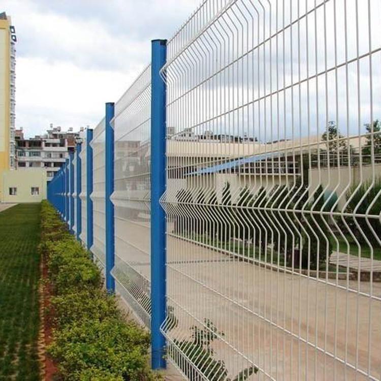 临边仓库防护栏 厂区护栏网 高速道路双边防护栏网 云旭 丝网定制