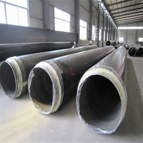 鋼套鋼蒸汽保溫鋼管,鐵皮保溫鋼管廠家-天元管道