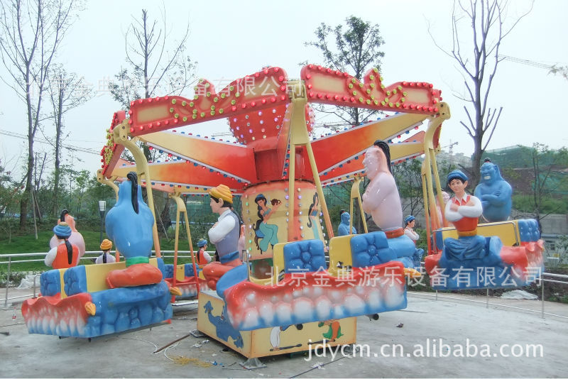 北京游乐设备厂直销新型游乐设施 摇头飞椅 室内外游乐设备示例图3